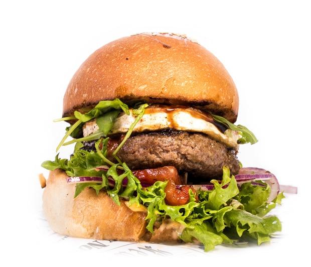 Vuohenjuustoburgeri